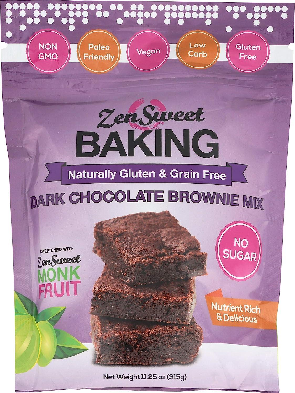 ZENSWEET Lowest price challenge Overseas parallel import regular item Dark Chocolate Brownie 11.25 OZ Mix