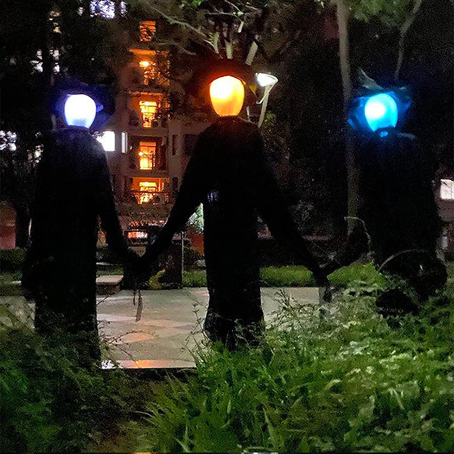 Large Light Our shop OFFers the best service Up Holding Hands Halloween Witches Decorat Genuine Screaming