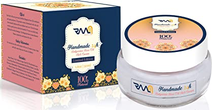 Handmade 24H - Bulgarian Rose Oil Rich Cream   limited edition   Anti aging & skin firming   100% Natural   50 ml - by RAAM