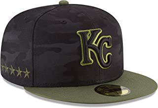 New Era Kansas City Royals 59Fifty Fitted Hat MLB Flat Bill Baseball Caps 5950