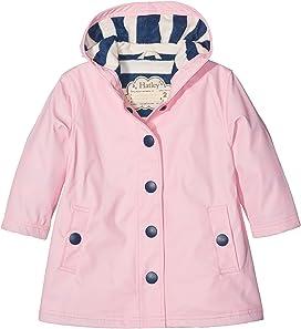 6037f9b38ca6 Hatley Kids Yellow with Navy Stripe Lining Splash Jacket (Toddler ...