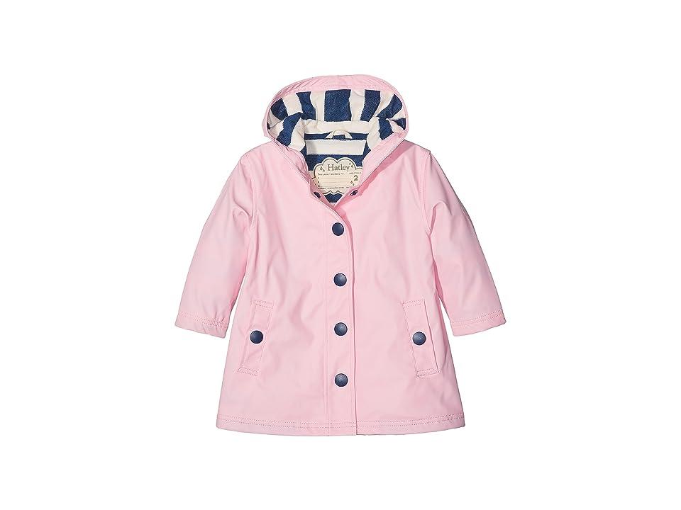 Hatley Kids - Hatley Kids Classic Pink Splash Jacket