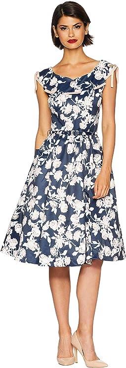 1950s Style Marlo Swing Dress