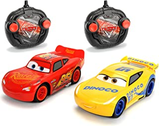 "Dickie Toys 203087005 ""Cars 3 - Lightning Mcqueen and Cruz Ramirez"" RC Vehicle Set"