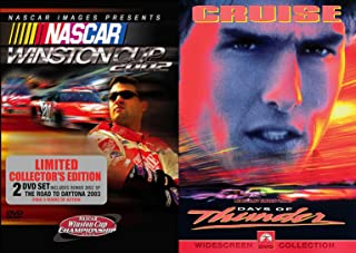 Stock Car Race Double Feature Days of Thunder Tom Cruise + Winston Cup Road to Daytona Action DVD set