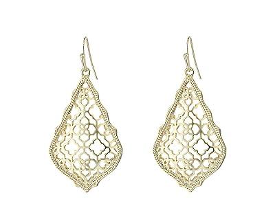 Kendra Scott Addie Earrings (Gold Metal) Earring