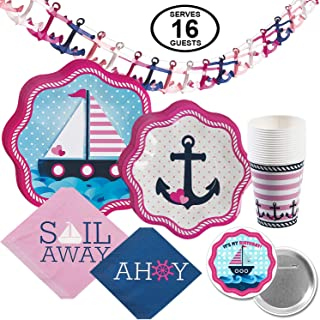 Best nautical girl birthday Reviews
