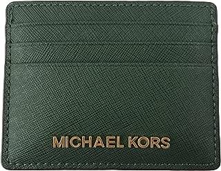 Michael Kors Jet Set Travel Large Saffiano Leather Card Holder