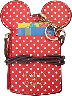 Neck Pouch,CHARMINER Card Holder Wave Dot Travel Bag With Coin Wallet Purse