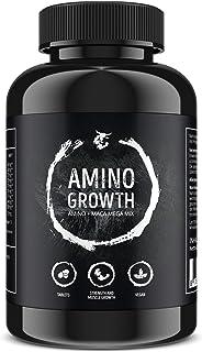 AMINO GROWTH 150 Comprimidos (Vegan) | Alta dosis con 5000 mg/porción | Complejo