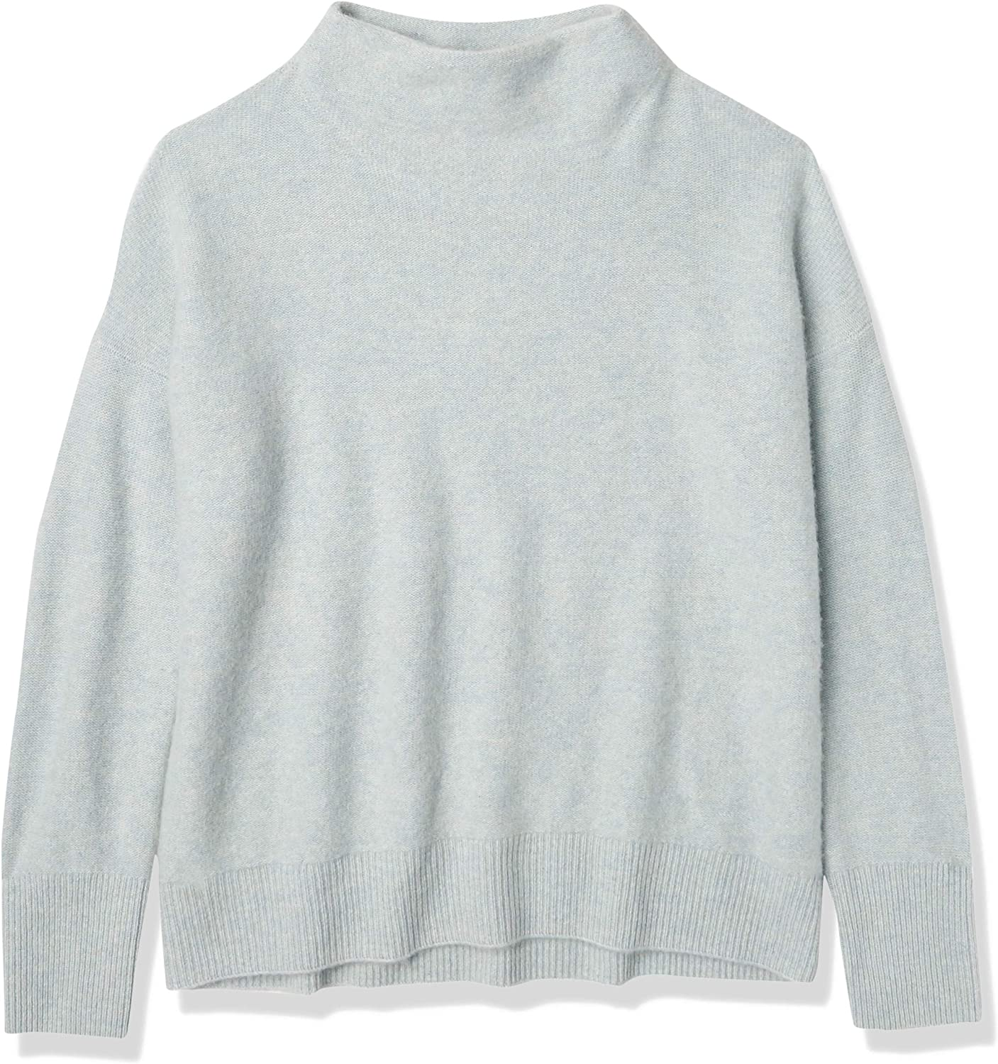 Quality inspection Vince Women's Boiled Cashmere Pullover Funnel Neck OFFer