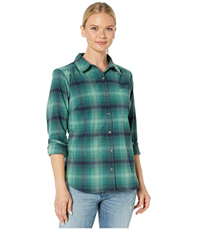 Royal Robbins Merinoluxtm Flannel Long Sleeve (Jasper) Women