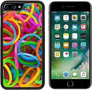 MSD Premium Apple iPhone 7 Plus Aluminum Backplate Bumper Snap Case IMAGE ID: 29795151 rainbow Colors Blue Loom Refills Silicon Elastic Rubber Bands
