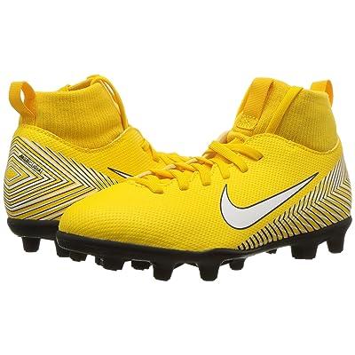 Nike Kids Neymar Jr. Superfly 6 Club MG Soccer (Little Kid/Big Kid) (Amarillo/White/Black) Kids Shoes