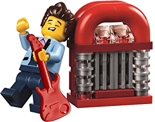LEGO City Town Minifigure: Rock Star / Elvis (with Juke Box & Red Guitar) 10260