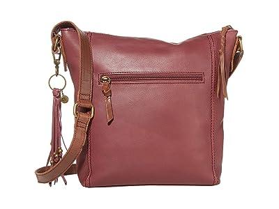 The Sak Ashland Crossbody (Cabernet) Cross Body Handbags