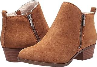Lucky Brand Women's Baselcozy Bootie Ankle Boot, Topanga Tan, 7