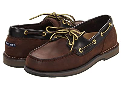 Rockport Ports of Call Perth (Chocolate/Bark) Men