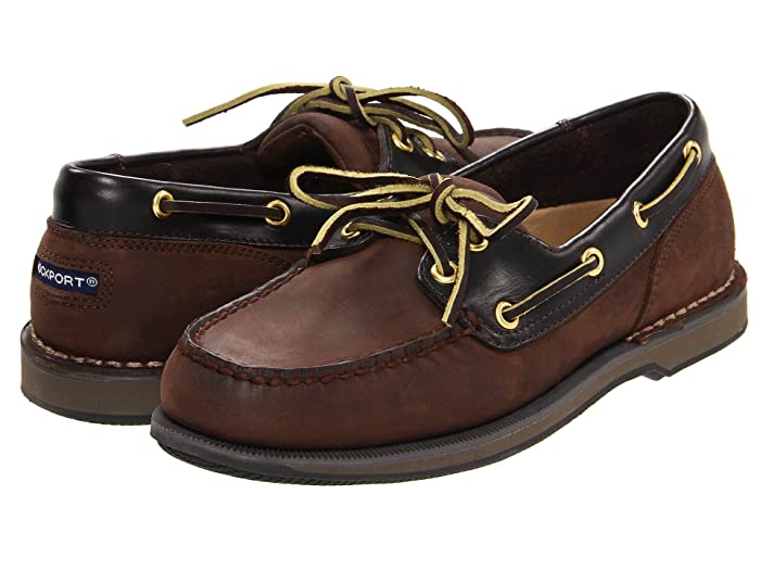 Rockport  Ports of Call Perth (Chocolate/Bark) Mens Lace up casual Shoes