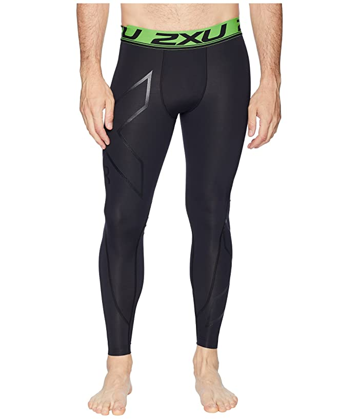 2XU Refresh Recovery Compression Tights (Black/Nero) Men