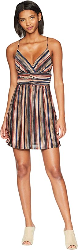 Shirred Banded Waist Dress