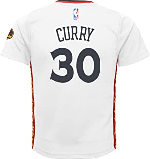Stephen Curry #30 Golden State Warriors Adidas Youth Pride Replica Jersey (X-Large)