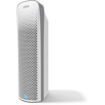Pure Enrichment® PureZone™ Elite 4-in-1 Air Purifier - True HEPA Filter + UV-C Sanitizer Cleans Air, Helps Alleviate Allergies, Removes Pet Hair & Smoke, For Large Rooms (White)
