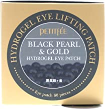 60 Patchesfee Black Pearl Gold Hydrogel Eye Patch 60 Patches