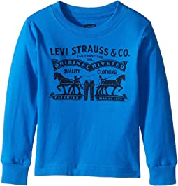 Levi's® Kids Long Sleeve Graphic Tee (Toddler)