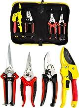KOTTO 4 Packs Pruner Shears Garden Cutter Clippers, Stainless Steel Sharp Pruner Secateurs, Professional Bypass Pruning Ha...