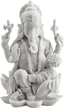 (Large) - Rare Ganesh (Ganesha) Hindu Elephant God of Success Statue, 18cm