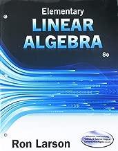 Elementary Linear Algebra + Webassign 1 Term Access Card for Larson's Elementary Linear Algebra, 8th Ed