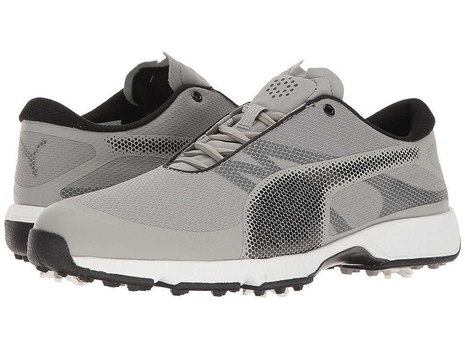 PUMA Golf Ignite Drive Sport (Drizzle/Puma Black/Puma White) Men's Shoes