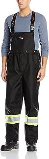 Viking Professional Journeyman FR Waterproof Flame Resistant Bib Pant, Black, XL