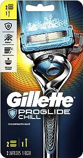 Gillette Fusion5 ProShield Chill Men's Razor Handle + 2 Refills