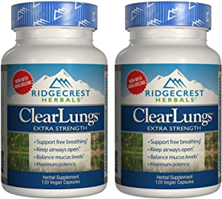 Sponsored Ad - Ridgecrest Clearlungs X-Strength 120 Cap Pack of 2