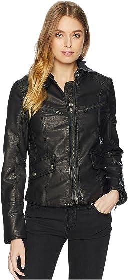 Monroe Hooded Vegan Jacket