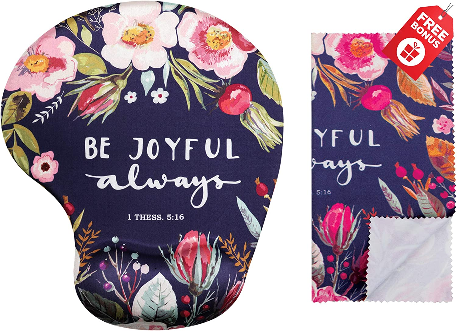 Be Joyful Always Ergonomic Design with Support. OFFicial site Wrist Mouse Recommended Pad