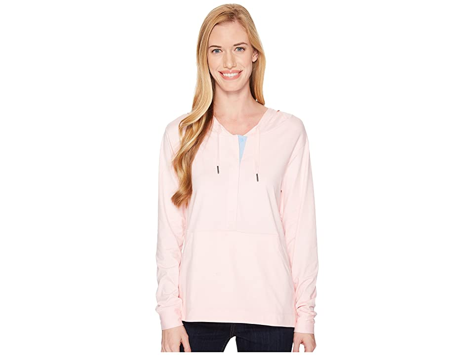 Columbia Reel Relaxed Hoodie (Cherry Blossom/White Cap) Women