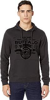 Buffalo David Bitton Men's Long Sleeve Regular wash Hoodie