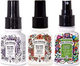 product image for Poo-Pourri Lavandar Vanilla, Tropical Hibiscus, Party Pooper, 1.4 Ounce Set