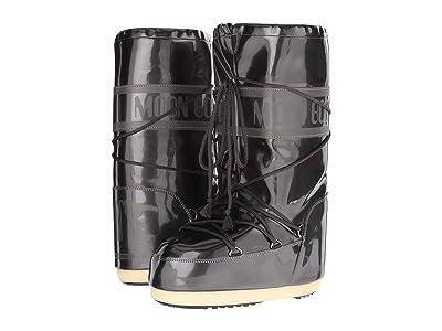 MOON BOOT Moon Boot Vinyl Met (Black) Boots