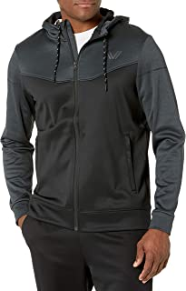Peak Velocity Men's Quantum Fleece Full-Zip Loose-Fit Hoodie