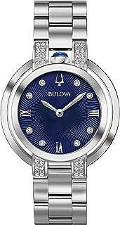 Bulova Women's 96R225 RUBAIYAT Analog Display Quartz Silver Watch