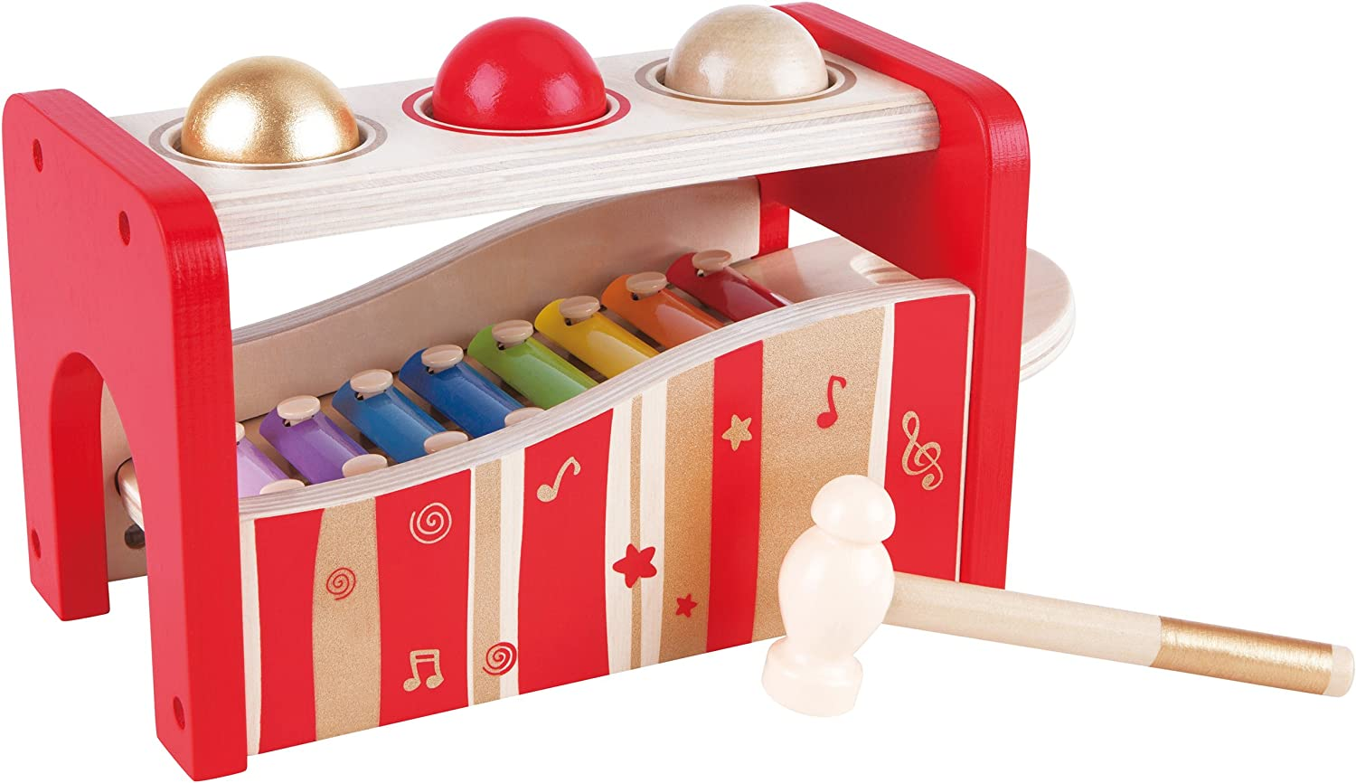 Hape  Pound and Tap Bench Music Set 30th Anniversary  2016 LIMITED EDITION