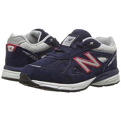 New Balance Kids KJ990v4I (Infant/Toddler) (Blue/Red) Boys Shoes