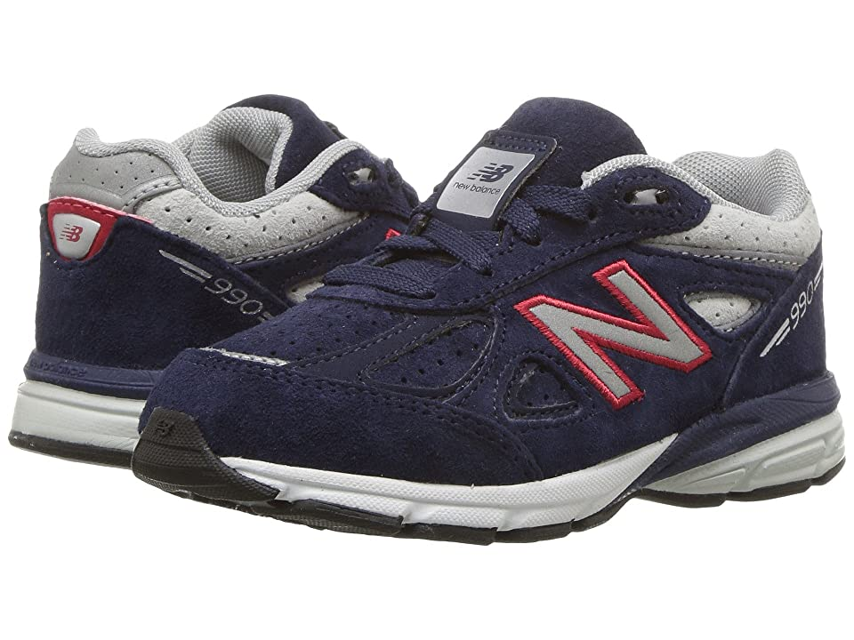 New Balance Kids KJ990v4I (Infant/Toddler) (Blue/Red) Boys Shoes