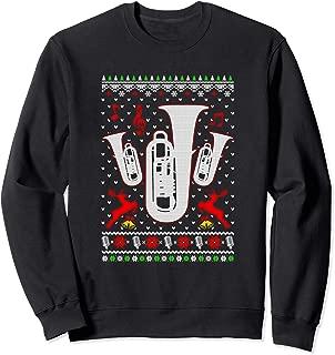 Santa Tuba Ugly Christmas Sweater Gifts Sweatshirt
