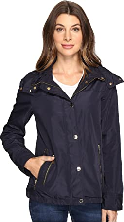 Hooded Snap Front Jacket M322087R