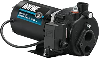 Wayne CWS100 Convertible Well Pump, 1-Horsepower